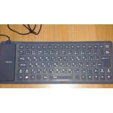 Клавиатура гибкая силиконовая переносная