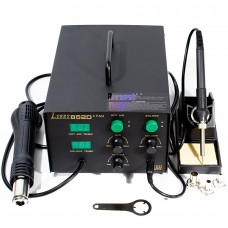 Паяльная станция Lukey 852D компрессорная, фен, паяльник