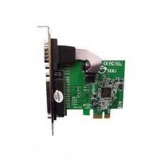 Контроллер внешний ATcom PCI-E Parallel,WCH-chipset