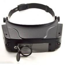 Лупа бинокулярная Magnifier 81007C с Led подсветкой 1.5Х 3Х 9.5Х 11Х увеличения