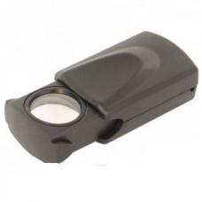Карманная лупа выдвижная с подсветкой 20X увеличение Magnifier 21009