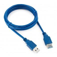 Удлинитель Ritar USB 3.0 (штекер A - гнездо А) кабель папа мама 1,5м синий