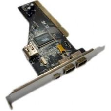 Контролер PCI-1394 FireWire 2+1port с кабелем (VIA chipset)