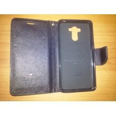 Откидной футляр вбок Xiaomi Redmi 4A черная книжка чехол