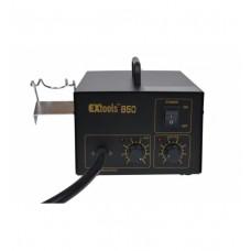 Паяльная станция EXtools 850 HandsKit с феном термовоздушным