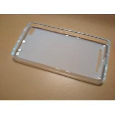 Накладка бампер Xiaomi Redmi 3 прозрачный чехол панель