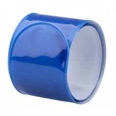 Светоотражающая лента-браслет фликер желтая