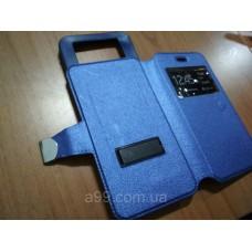 Боковой флип чехол слайдер Lenovo A6010 универсальный чехол обложка 5