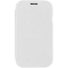 Чехол Melkco Leather Case Jacka Face Cover White Samsung Galaxy SDuos S7562 SS7562LCFB2WELC