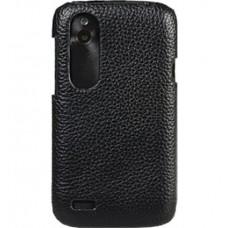 Чехол-накладка Melkco Leather Snap Cover Black for Htc Desire V T328w/X T328e O2DESVLOLT1BKLC
