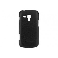 Чехол-накладка Melkco Leather Snap Cover Black for Samsung Galaxy S Duos S7562 SS7562LOLT1BKLC