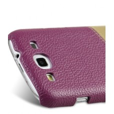 Чехол Melkco Leather Snap Cover Purple for Samsung Galaxy S Duos S7562 SS7562LOLT1PELC