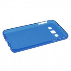 Чехол Samsung Galaxy A3 A300 голубой силиконовый