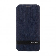 G-Case Funky Series Flip Case for iPhone X Blue
