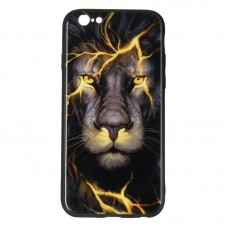 IPaky Glass Print for iPhone 6 Lion