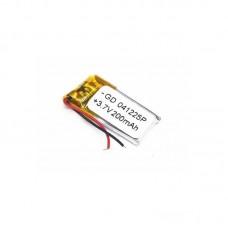 Polymer battery 12254 200mAh