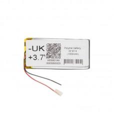 Polymer battery 30654 1000mAh