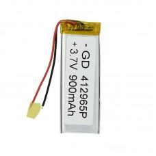 Polymer battery 30704 1000mAh