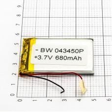 Polymer battery 34*50*3 (800mAh)