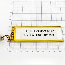 Polymer battery 421104 1400mAh