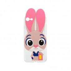 Силиконовый чехол Зверополис Rabbit iPhone 4/4S