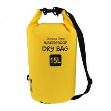 Waterproof Bag 15L Yellow