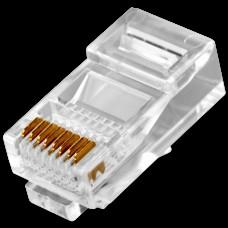 Коннекторы RJ45 сетевые для обжима кабеля витая пара 1000 штук