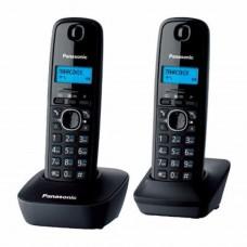 Беспроводной стационарный телефон Panasonic KX-TG1612UAH Grey