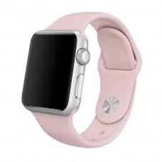 Ремешок Apple Watch 42mm Pink Silicone