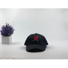 Кепка бейсболка Big Rose (черная)